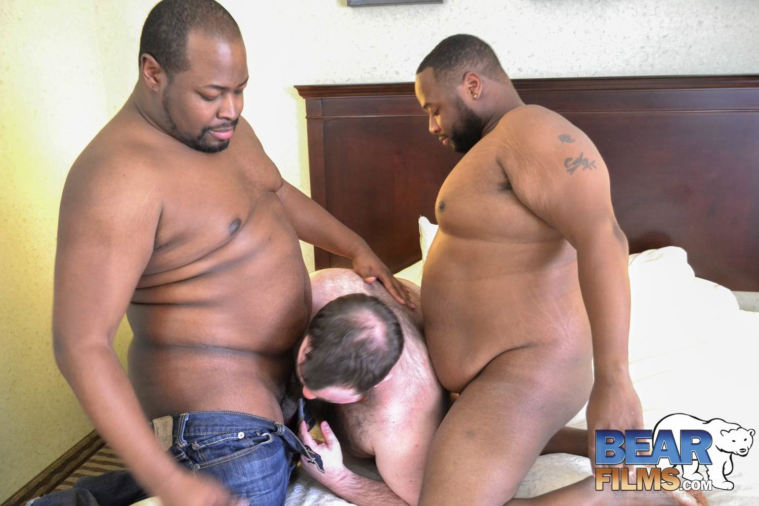 black muscle worship gay porn
